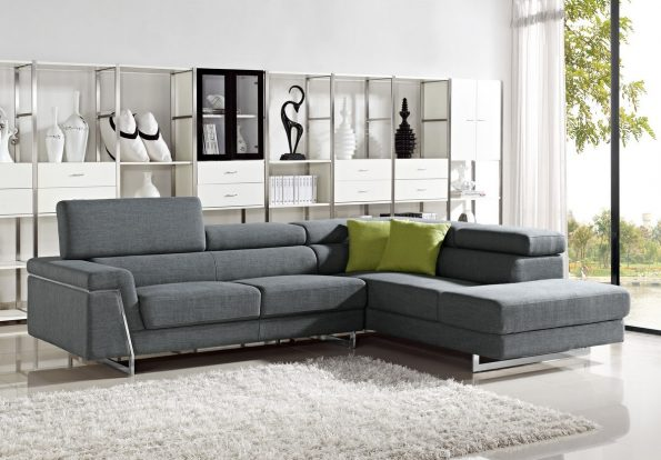 DARBY – MODERN FABRIC SECTIONAL SOFA SET